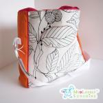 The Cool Big Bag - White Leafs with..