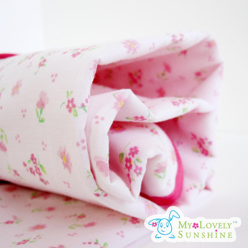 Pink Bliss - Baby and Toddler Blanket - Nursery Basics, Swaddling Blanket, Receiving Blanket, Stroller Blanket