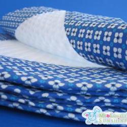 Baby Pique Blanket - Forget Me Not Baby