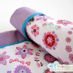 Purple Love Baby Blanket
